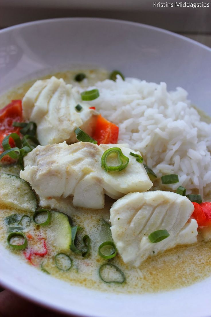 Kristins Middagstips: Torsk Green Curry