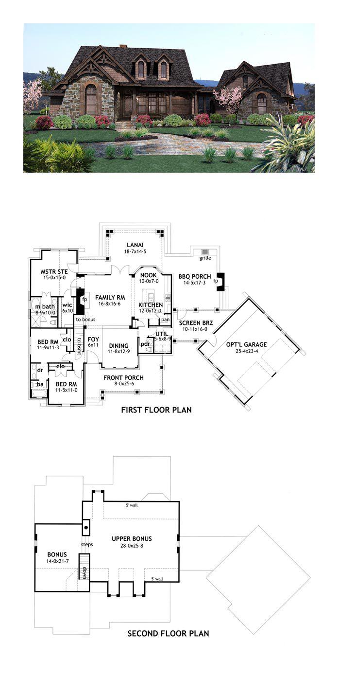 Craftsman House Plan chp 47374 16 best Craftsman