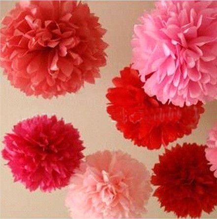 2015 haute qualité 6 polegadas 15 CM papier pompons balles fleurs de haute qualité de mariée décoration 10 pcs/lote dans Accessoires de fêtes et d'évènement de Maison & Jardin sur AliExpress.com | Alibaba Group