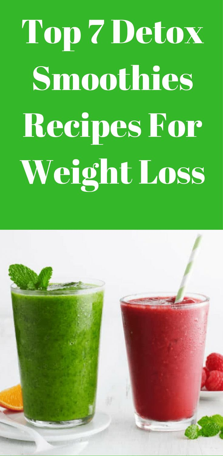 Are you looking for the top 7 detox smoothies recipes for weight loss? These top 7 detox smoothies recipes will help you reduce belly fat really fast.