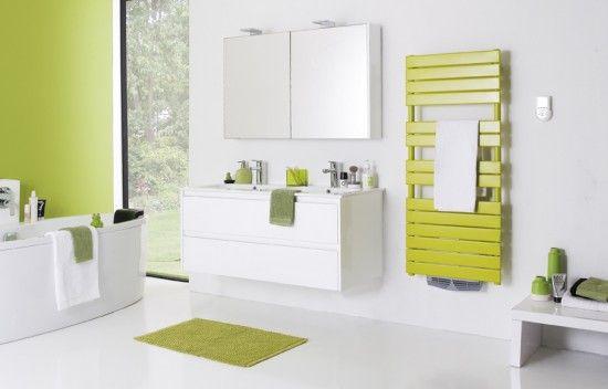 Le radiateur sèche serviettes couleur : nouvel atout de votre salle de bain