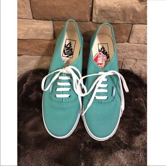 Vans Shoes - New Mint Green Vans
