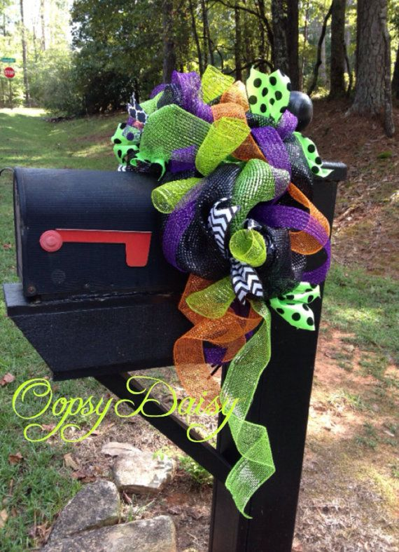 Hey, I found this really awesome Etsy listing at https://www.etsy.com/listing/204146806/halloween-mailbox-saddle-halloween
