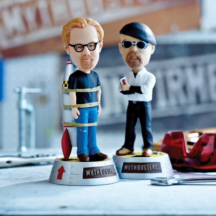 267 best mythbusters images on pinterest science fair projects mythbusters jamie adam bobblehead set malvernweather Gallery
