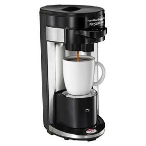 Hamilton Beach Re-Certified FlexBrew Single Serve Coffee Maker - Black R1019 : Target