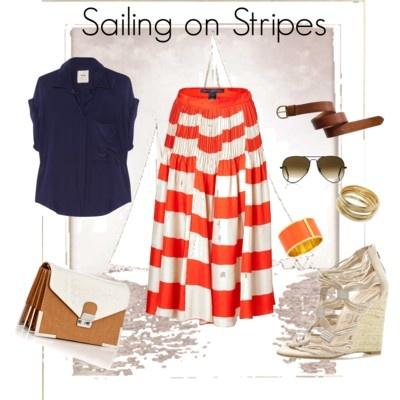 Sailing on Stripes