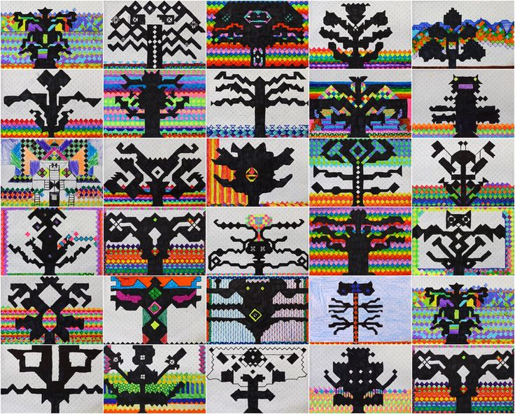Art With Mr Hall: Symmetrical Silhouettes