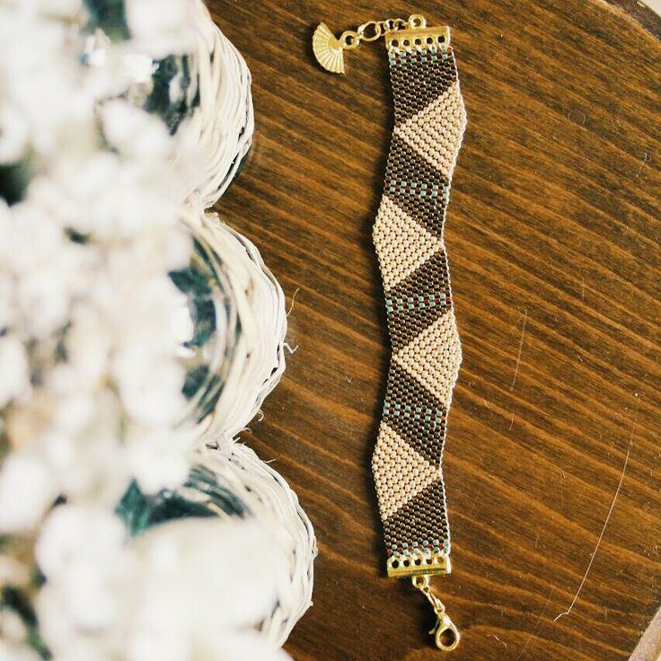 handmade miyuki bracelet. to more information instagram: san_art_jewelry