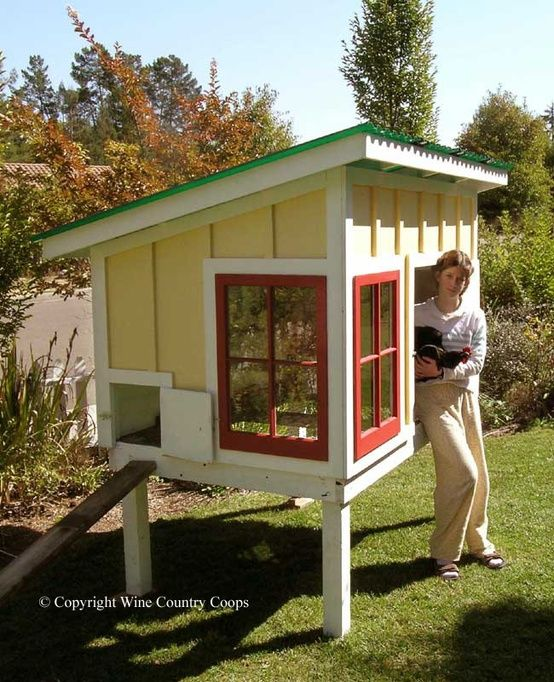 179 Best Creative Chicken Coops Images On Pinterest Backyard
