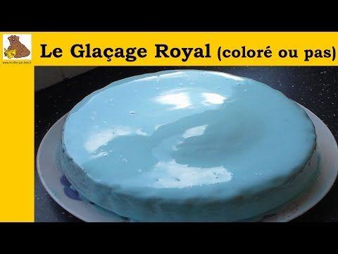 Le glaçage royal (coloré ou pas) (recette facile et rapide) - YouTube