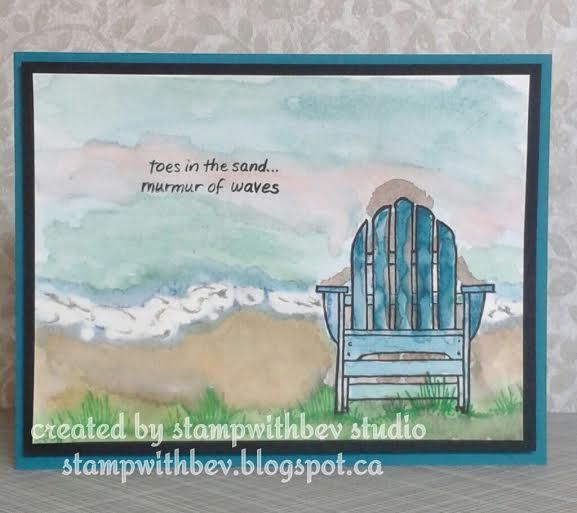 St&endous  Seaside Chair  ... & 10 best Seaside chair images on Pinterest | Beach cards Diy cards ...