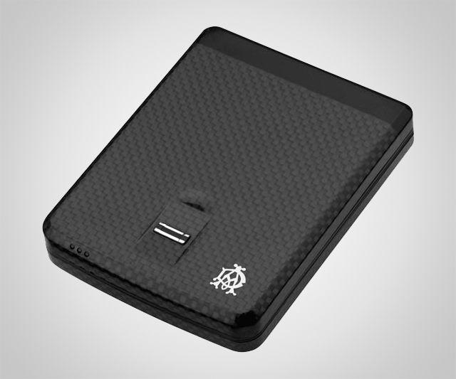 Indestructible Biometric Wallet. Way too cool.....way too expensive!!!