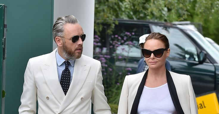Stella McCartney and Her Husband Do His-and-Hers Suits at Wimbledon