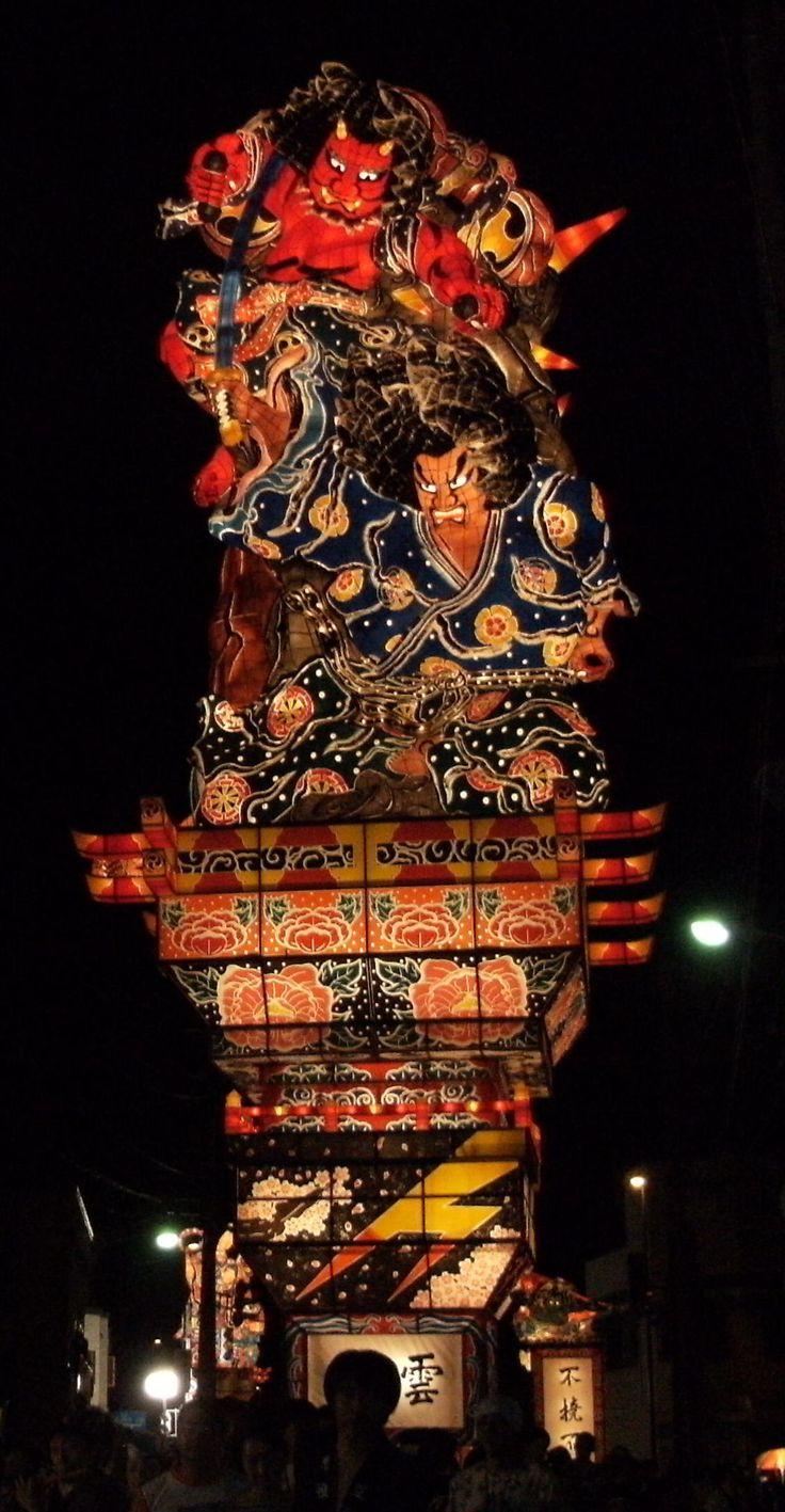 Goshogawara Tachi-Neputa Festival, Aomori-Ken, Japan
