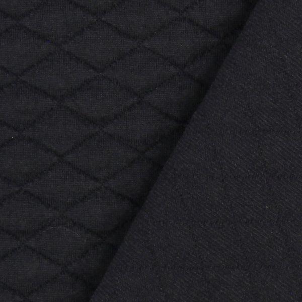 Stretch Stepp Uni 5 - 95% Poliestere, 5% Spandex  - nero. Uso: Sweatshirts, Giacche, Blazer, Gonne, Abiti.