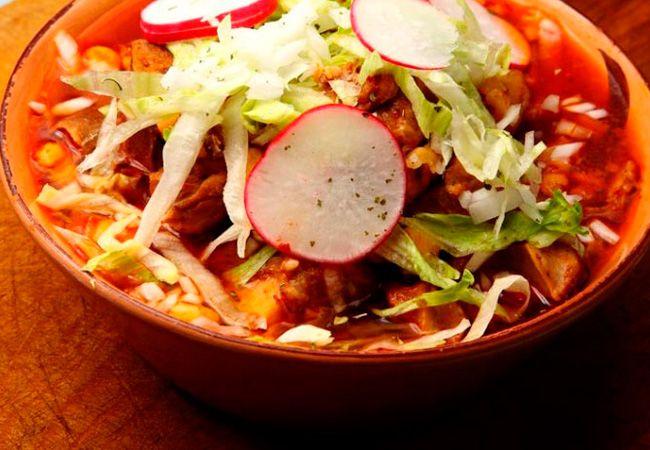 Pozole Los 7 alimentos típicos de Guadalajara