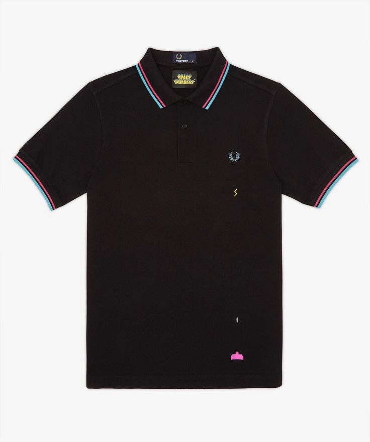 Fred Perry - Space Invaders Pique Shirt 1