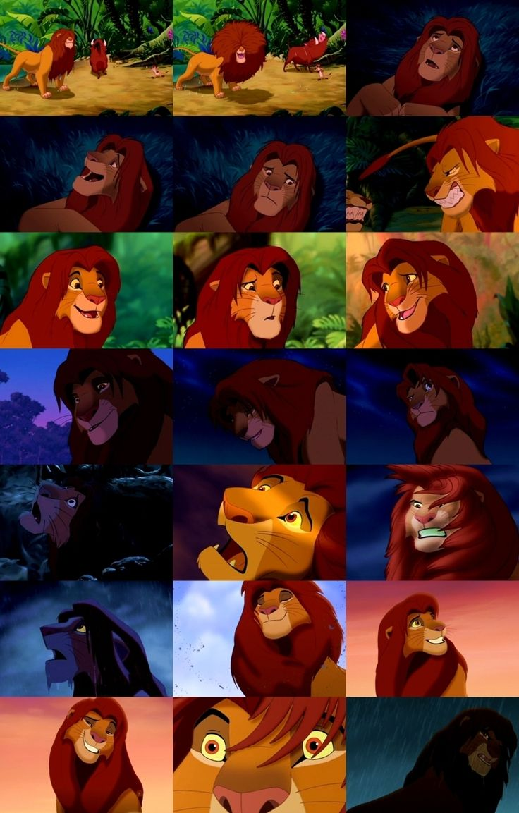my favorite character from the movie the lion king simba