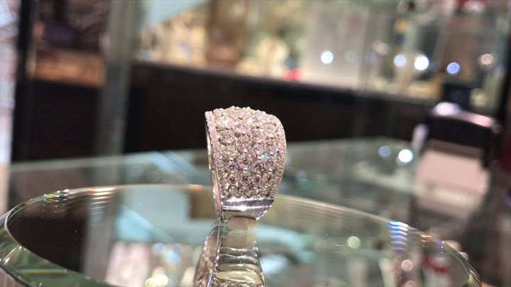 Delicate rows of brilliant cut #diamonds to elevate your everyday look! Stunning and beautiful, wouldn't you agree? --- #jewellery #style #fashion #luxury #diamond #diamondlife #diamondring #diamondrings #diamondsareforever #bling #blingbling #specialmoment #specialmoments #specialgift #somethingnew #special #beauty #jewellerydesign #fashionaccessories #jewelleryaddict #instastyle #fashionstyle #igstyle #luxurybrand #luxurylife
