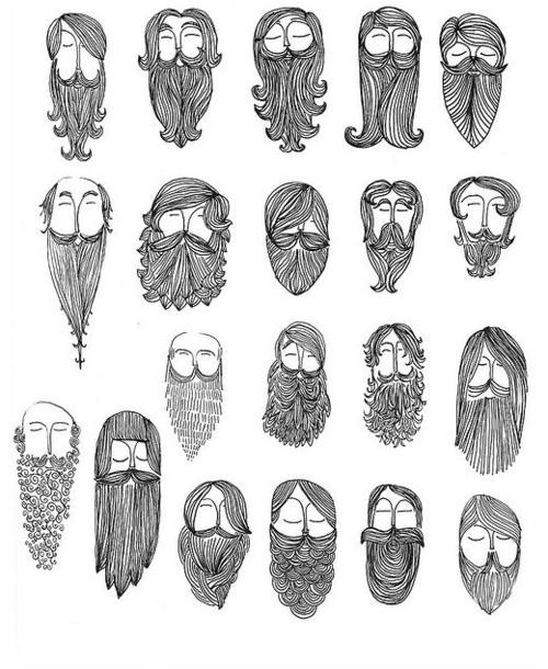 This reminds me of Sarah and I making beards
