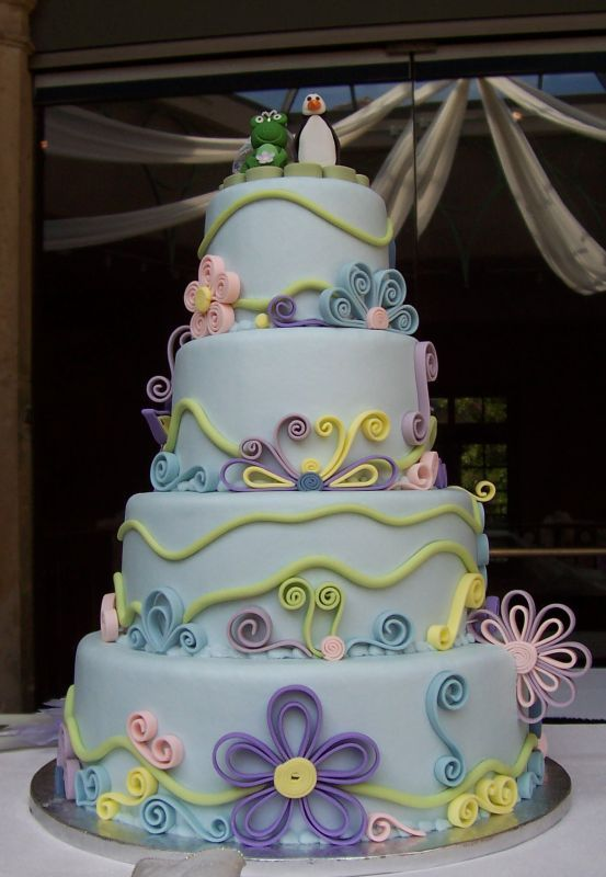 59 best images about Quilling with fondant on Pinterest ...