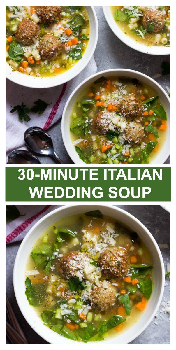 Easy Italian Wedding Soup Recipe With Frozen Meatballs Little Broken Recipe In 2020 Italian Wedding Soup Recipe Wedding Soup Italian Wedding Soup