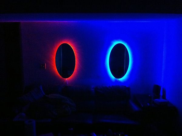 Portal Mirrors Will Test Your Will Not To Jump Through One -  #decor #portal #valve