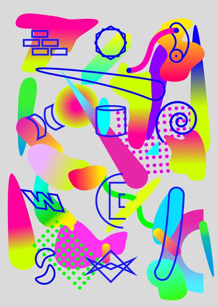 soyexo: 'random objets' personal work A3
