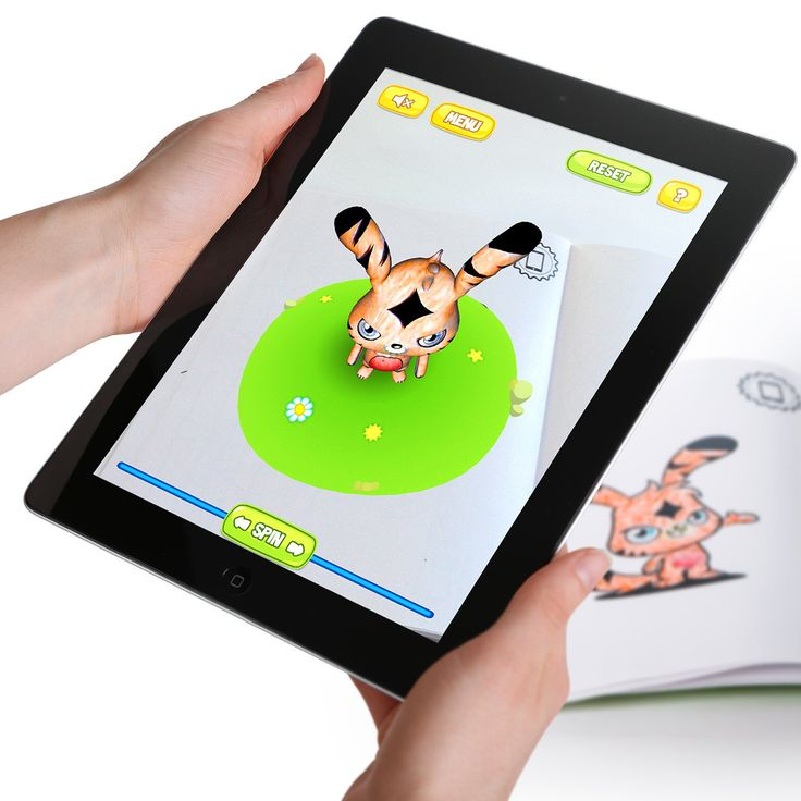 Moshi monsters 3d coloring book bringing coloring pages to life in 3d using augmentedreality
