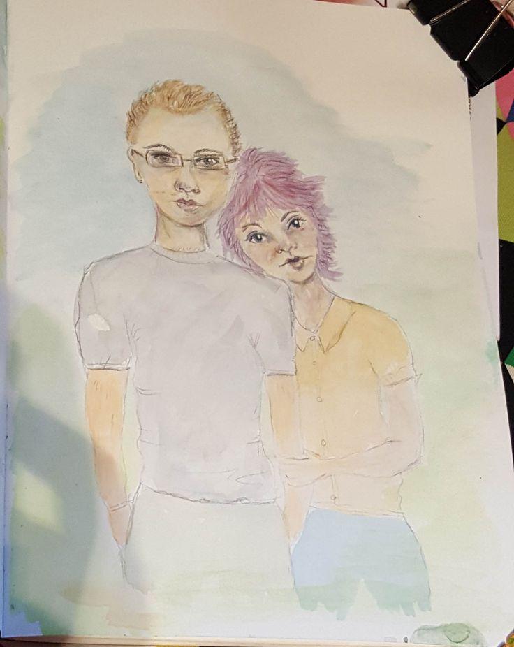 5. Watercolour.