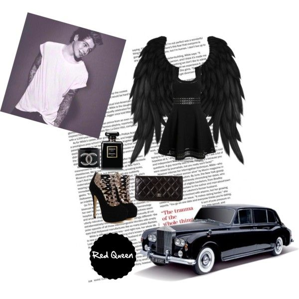 Luke by elleonora-scarlat on Polyvore featuring Elizabeth and James and Chanel