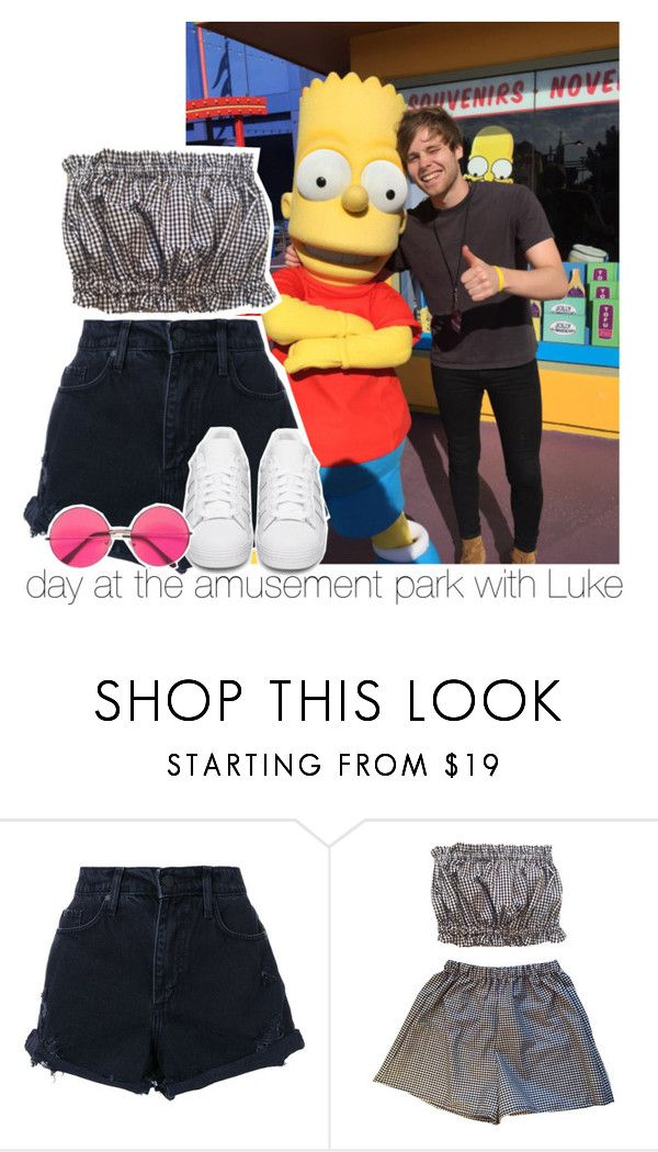 """""""i hear the secrets that you keep when you talk in your sleep"""" by i-prefer-the-drummer ❤ liked on Polyvore featuring Nobody Denim and adidas Originals"""