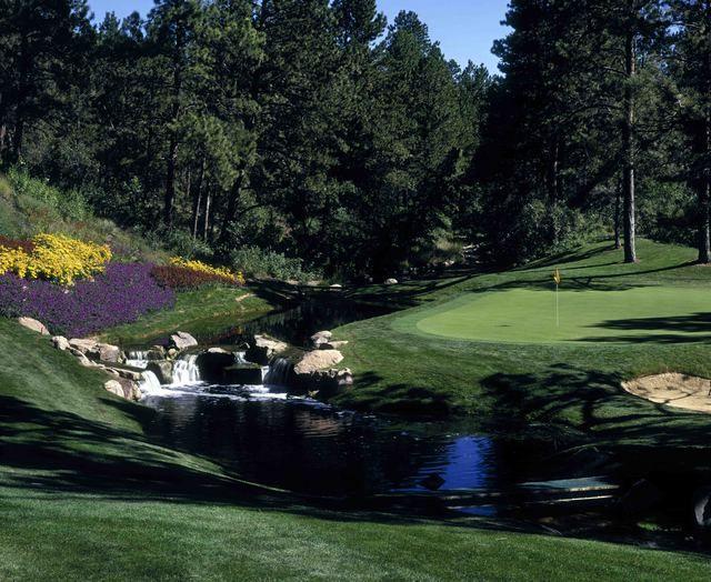 Castle Pines 11 - Castle Pines Golf Club - Private - Golfer Photos