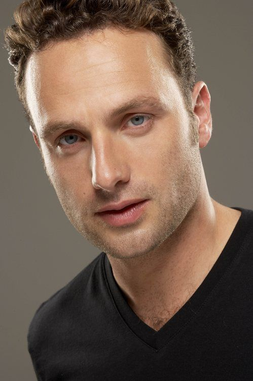 Andrew Lincoln (Rick Grimes) from The Walking Dead.He also played Mark in Love Actually.