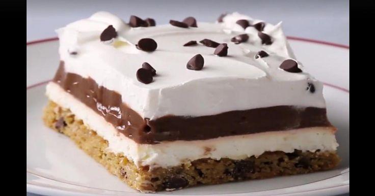 C'est encore votre gâteau sans cuisson qui remportera tous les honneurs! Cette fois, on laisse de côté les biscuits Graham et c'est juste meilleur!