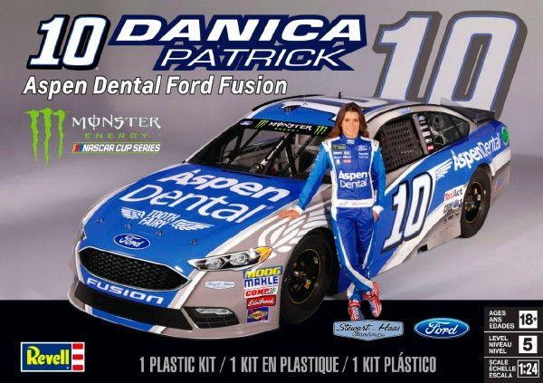 Revell-Danica Patrick #10 Aspen Dental Ford Fusion Glue Kit (1/24)
