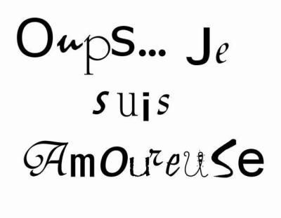 ❤️ Oups ... Je Suis Amoureuse ❤️
