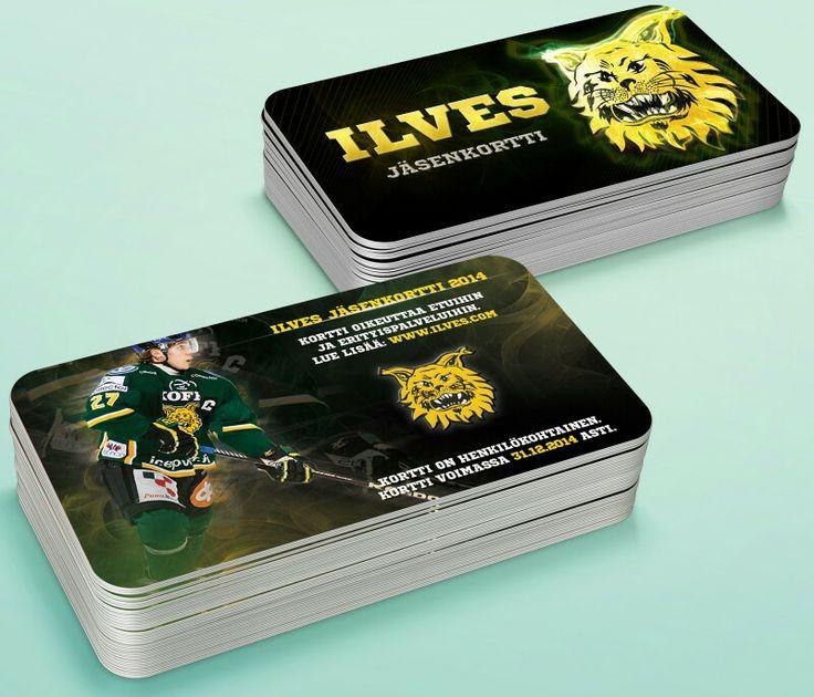 Ilves jäsenkortti