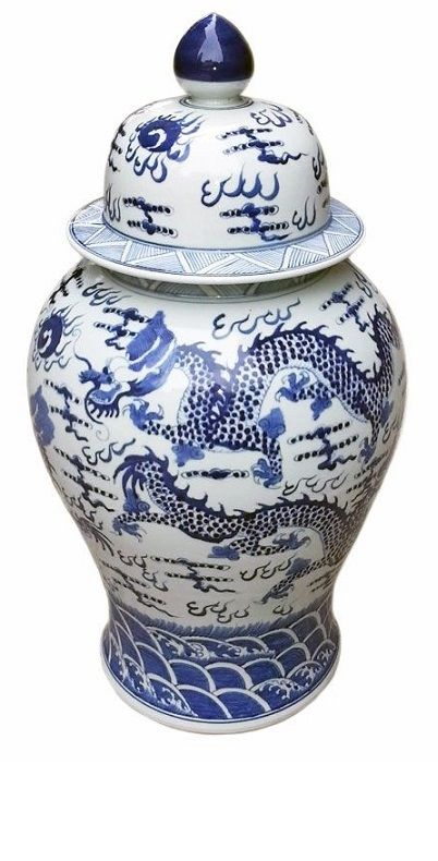 Beverly Hills Chinese Jingdezhen Blue