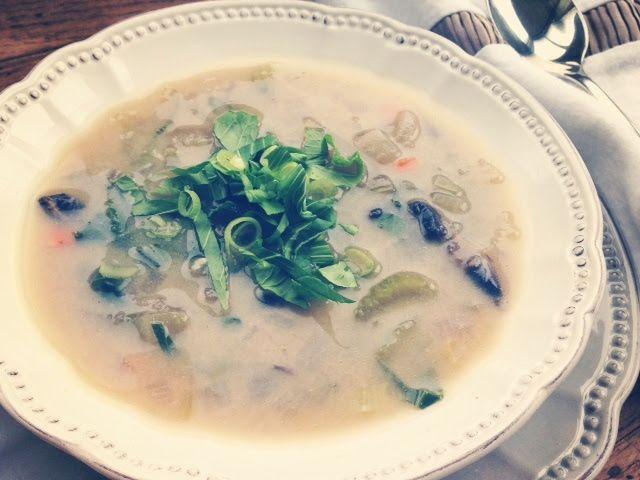Cure All Miso Soup - Jennifer Moore