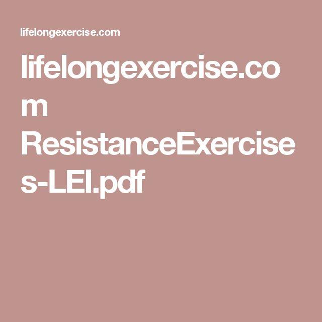 lifelongexercise.com ResistanceExercises-LEI.pdf