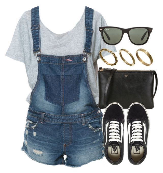 """Sin título #12843"" by vany-alvarado ❤ liked on Polyvore featuring Zara, Vans, Ray-Ban and Made"