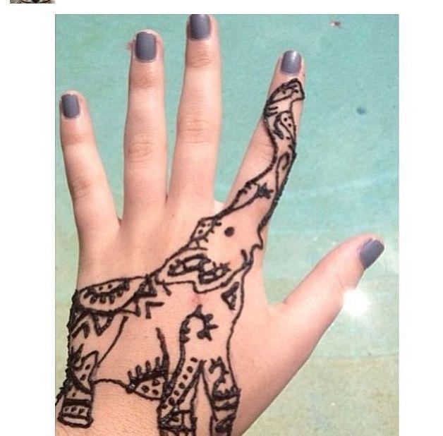 Fun Henna Design
