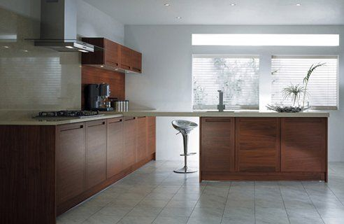 Postl Walnut Stylish Kitchen Interior Designs