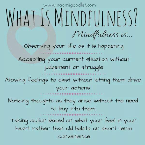 Mindfulness                                                       …