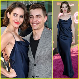 Alison Brie Gets Husband Dave Franco's Support at Netflix's 'Glow' Premiere!