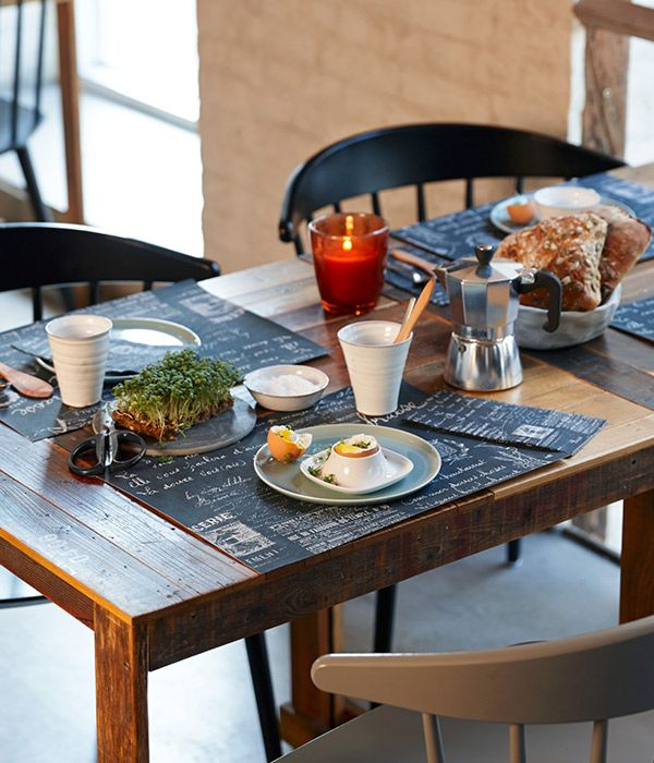 The design Le Bistro conjures up the aroma of fresh croissants and part industrial chic and vintage touches.