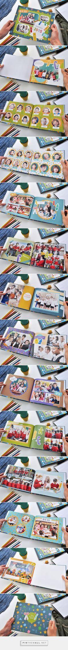 Anuario Días Fantásticos. Fotolibro 27,9 x 21,6 cm tapa dura. Fotolibro para descargar gratis y completar con tus fotos! | Blog - Fábrica de Fotolibros