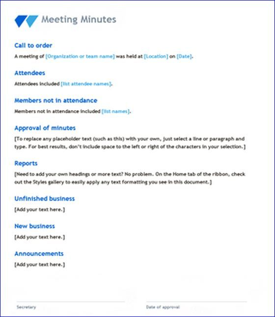 8 best Agendas images on Pinterest Microsoft word, Board and - meeting plan template