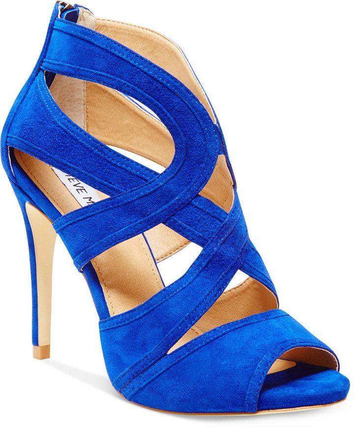 Steve Madden Womens Immence Strappy Sandals